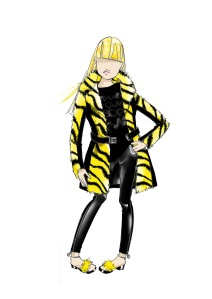 Young Versace FW 14_15 punk girl